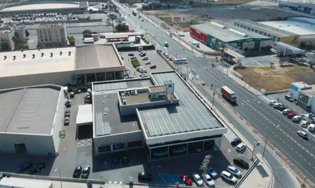 Benigar instala paneles solares en sus instalaciones de Fersán y Móvil Begar