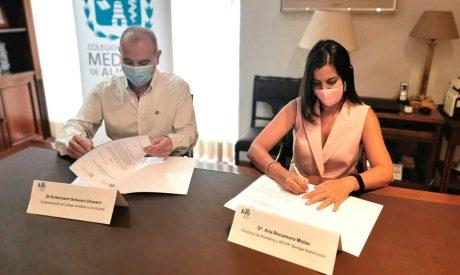 Benigar firma un convenio con el Colegio de Médicos de Alicante